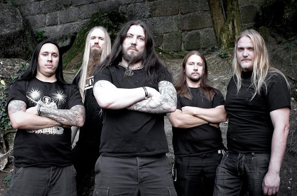 - aeon band photo - AEON Announces New Guitarist Ronnie Björnström
