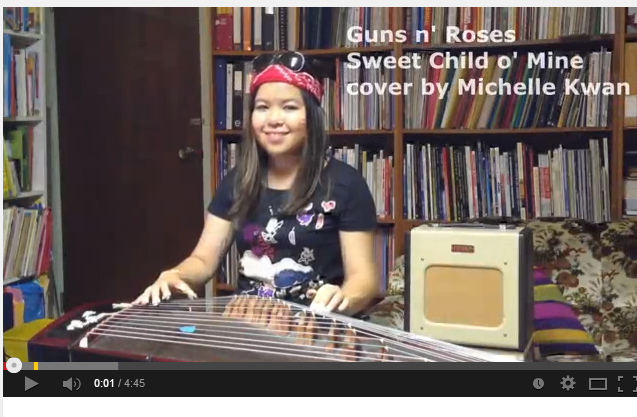 Guns  N Roses   Sweet Child o  Mine   Guzheng Cover   YouTube