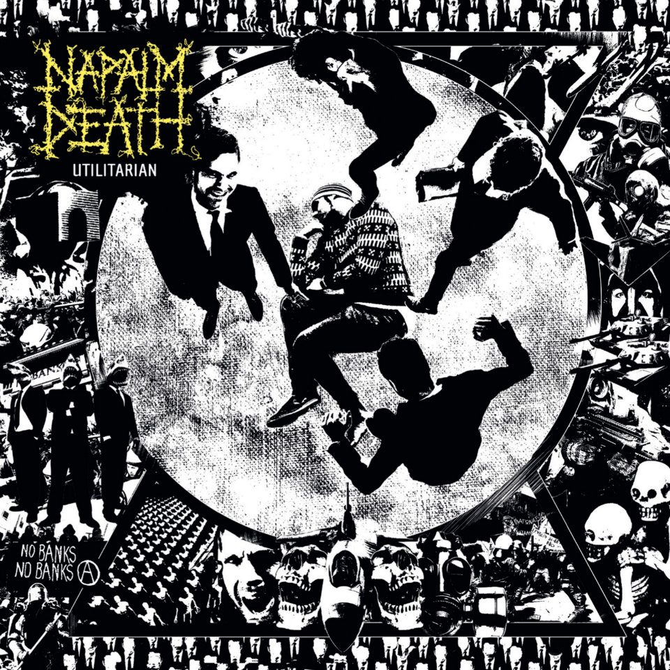- NAPALM DEATH UTILITIARNA - Utilitarian – Napalm Death