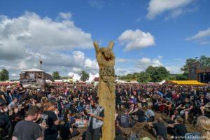 Wacken heavy metal open air festival takes off