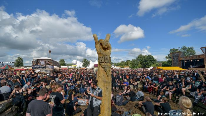 Wacken heavy metal open air festival takes off  - 39926736 303 - Wacken heavy metal open air festival takes off
