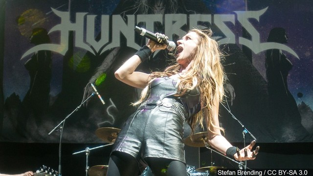 Jill Janus, lead singer of heavy metal band Huntress, dies at age 43  - Huntress 1534551220769 52244271 ver1 - Jill Janus, lead singer of heavy metal band Huntress, dies at age 43