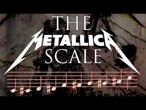 how to write metal riffs using the metallica scale - composition / guitar lesson - httpsi - How To Write Metal Riffs using the METALLICA SCALE – Composition / Guitar Lesson