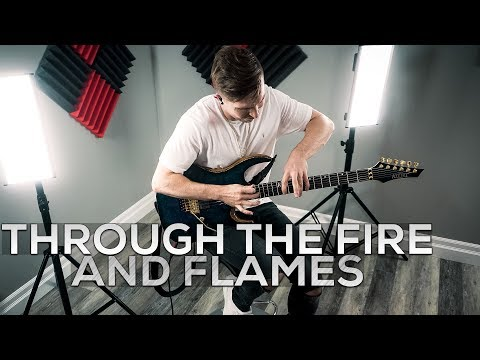 - httpsi - DragonForce – Through The Fire And Flames – Cole Rolland (Guitar Cover)