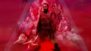 Nicolas Cage takes a chainsaw to '80s action cheese in the heavy-metal fantasia of Mandy