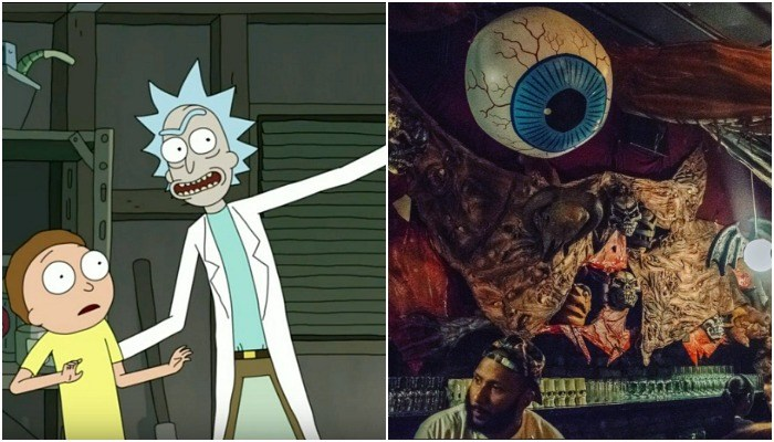 This heavy metal band got to destroy the new 'Rick And Morty' bar  - pjimage 9 - This heavy metal band got to destroy the new 'Rick And Morty' bar