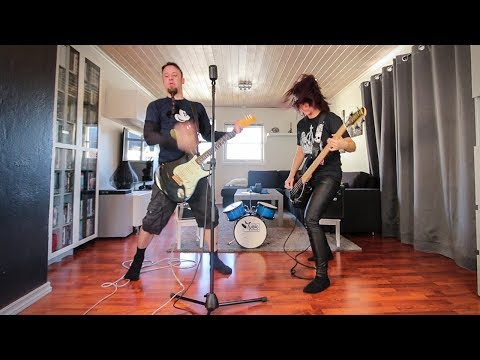 - httpsi - Pretty Fly (For a White Guy) metal cover by Leo & Stine Moracchioli