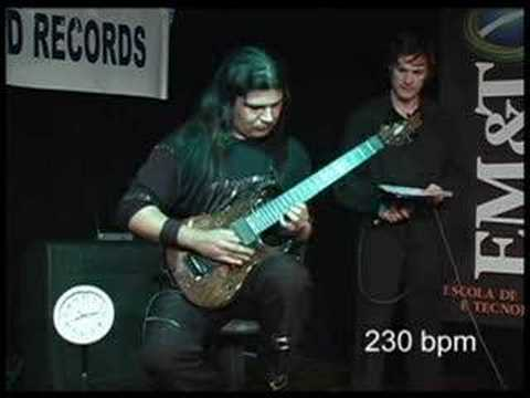 - httpsi - 320 BPM – OFFICIAL WORLD RECORD GUITAR SPEED 2008  – Guinness World Records