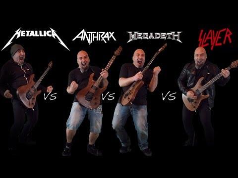 - httpsi - The Big 4  (Guitar Riffs Battle)