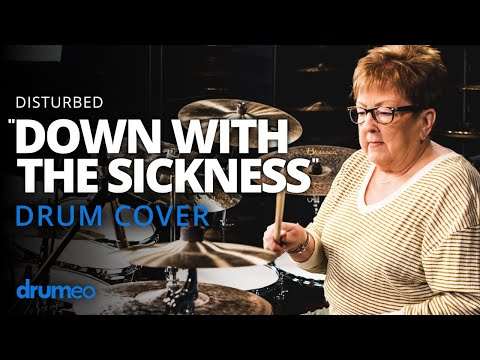 "- httpsi - The Godmother Of Drumming Plays ""Down With The Sickness"""