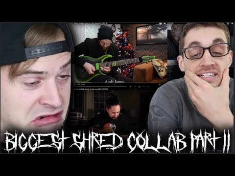 "- httpsi - Hip-Hop Head Reacts to ""the biggest shred collab song in the world II (2018)"""