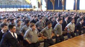 - httpsi - High School Boys Honour Retiring Teacher With Moving Haka