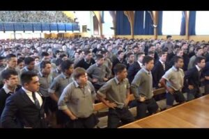 - httpsi - High School Boys Honour Retiring Teacher With Moving Haka