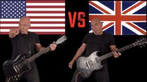 - httpsi - United States of America VS United Kingdom (Guitar Riffs Battle)