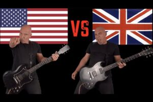 - httpsi - United States of America VS United Kingdom (Guitar Riffs Battle)