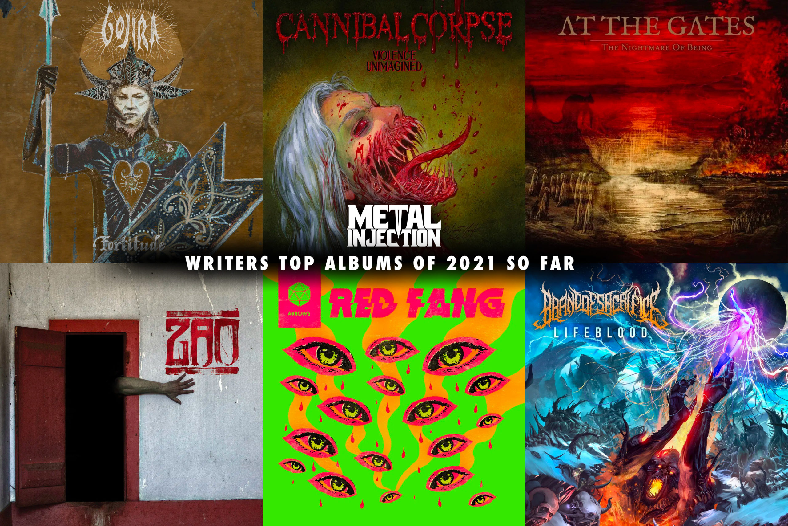 Metal Injection's Favorite Albums Of 2021 (So Far)